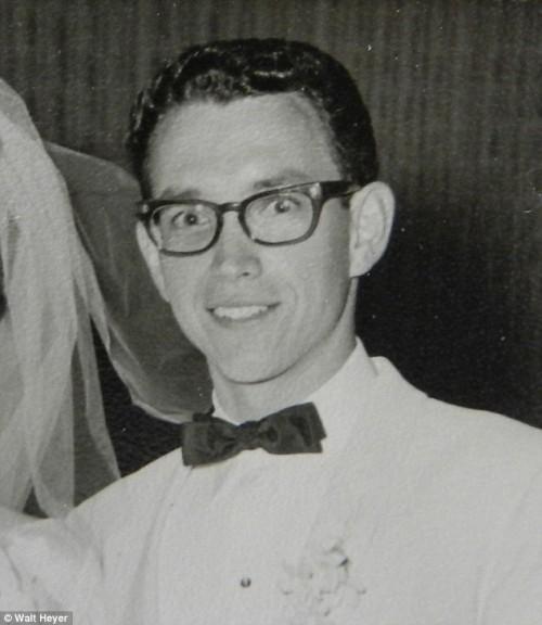 walt heyer en 1962 cuando se casó