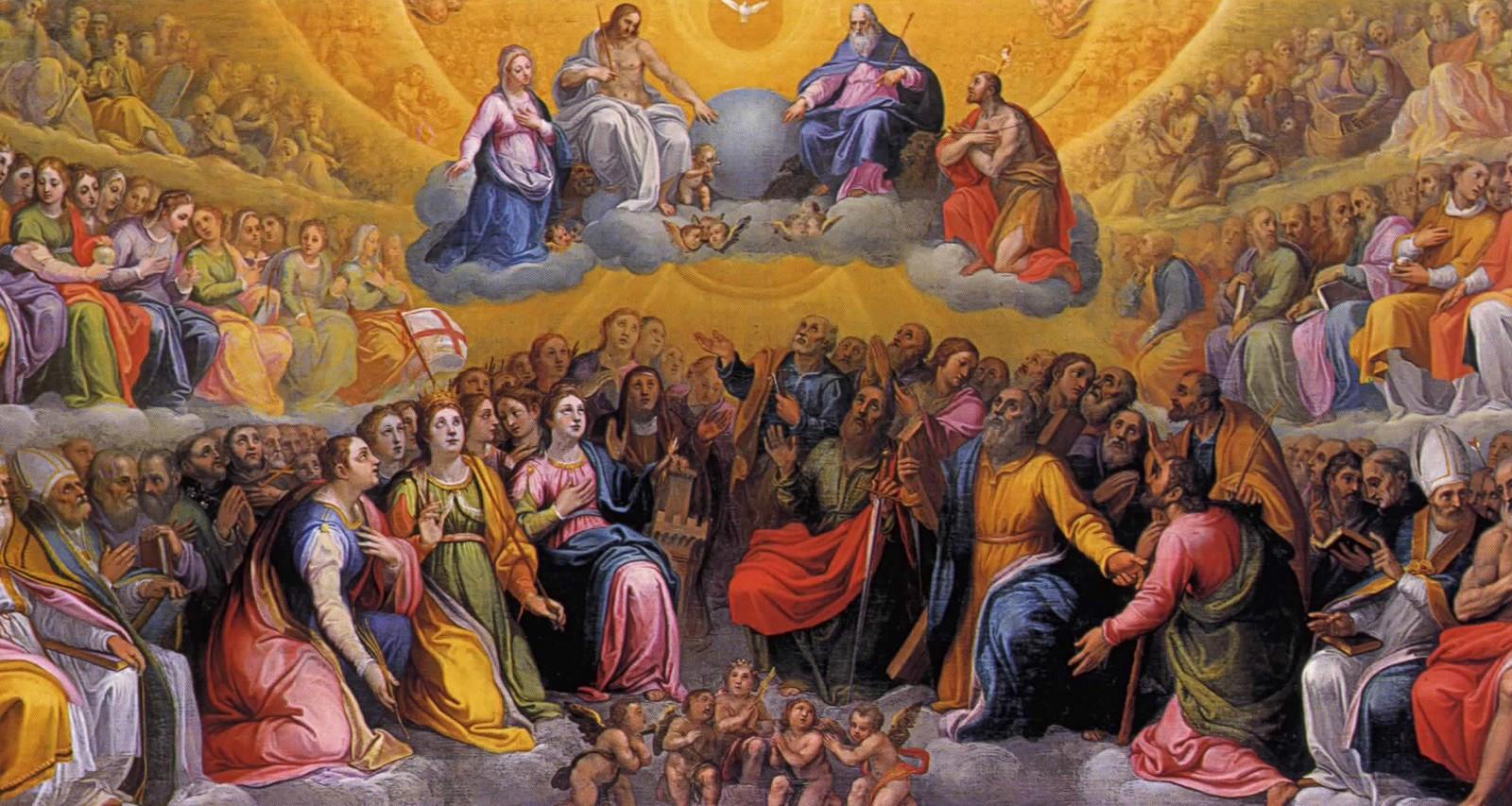 ¿De qué modo se Establece la Comunicación entre Nosotros y los Santos del Cielo?