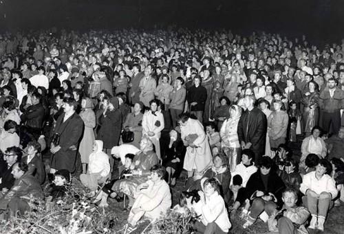 multitudes en ballinspittle 1985
