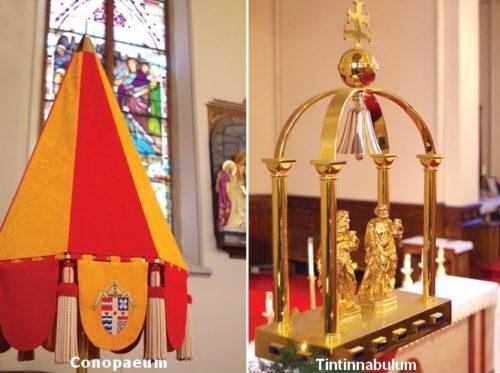 simbolos fisicos de basilica menor