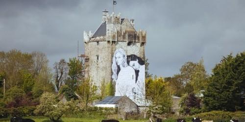vote por el si en un castillo