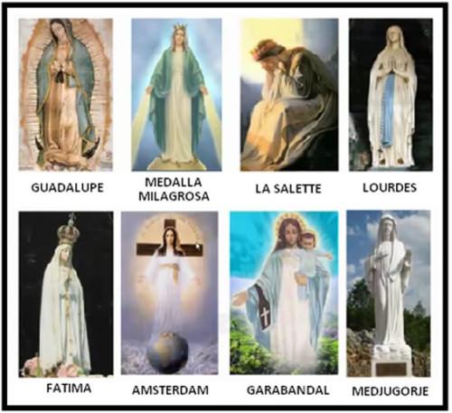 Apariciones de la Virgen