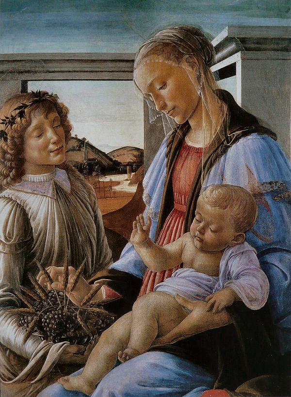 virgen eucaristia: