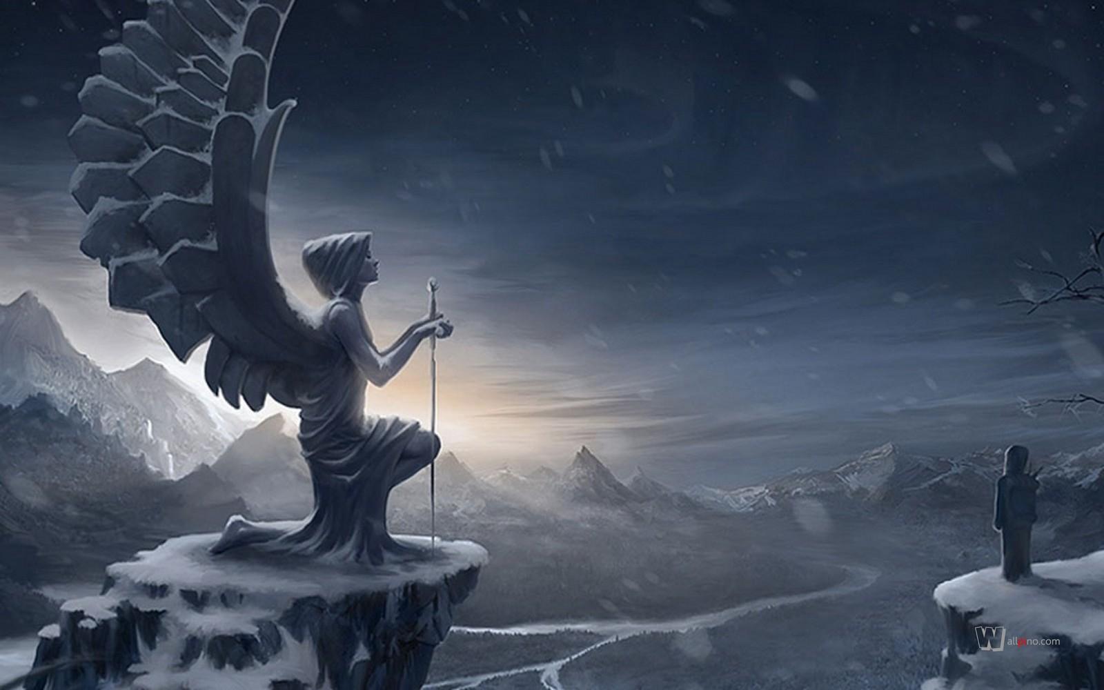angel gotico fondo