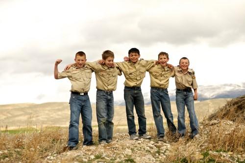 5 boy scouts fondo