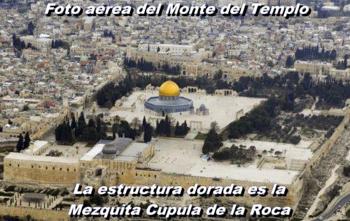 foto aerea del monte del templo
