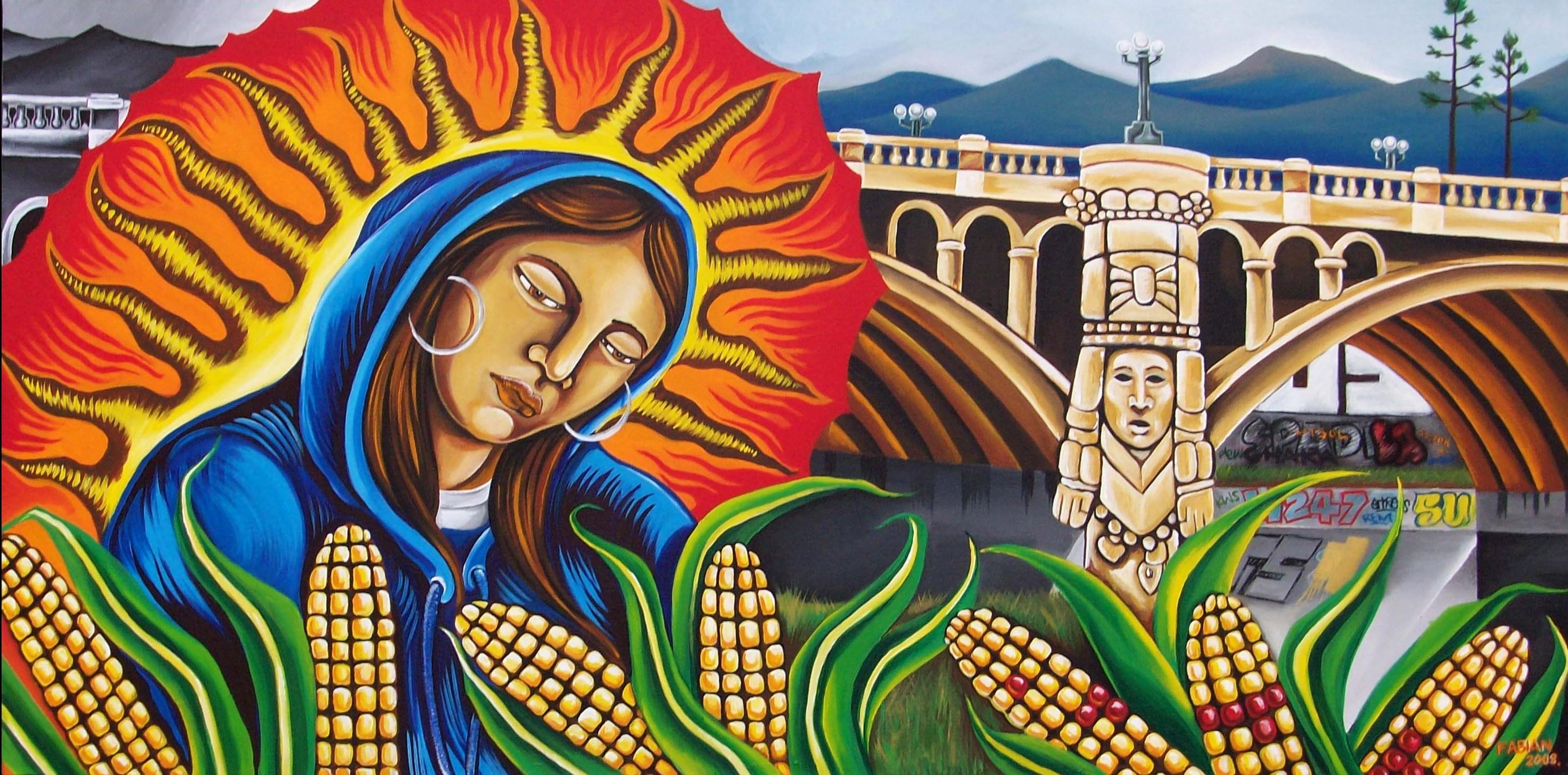 10 Imagenes Exóticas (para los occidentales) de María en la Fiesta de la Visitación (2 de julio)