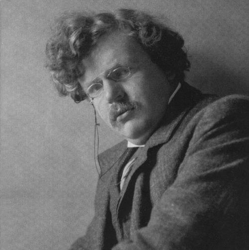 G.K. Chesterton joven