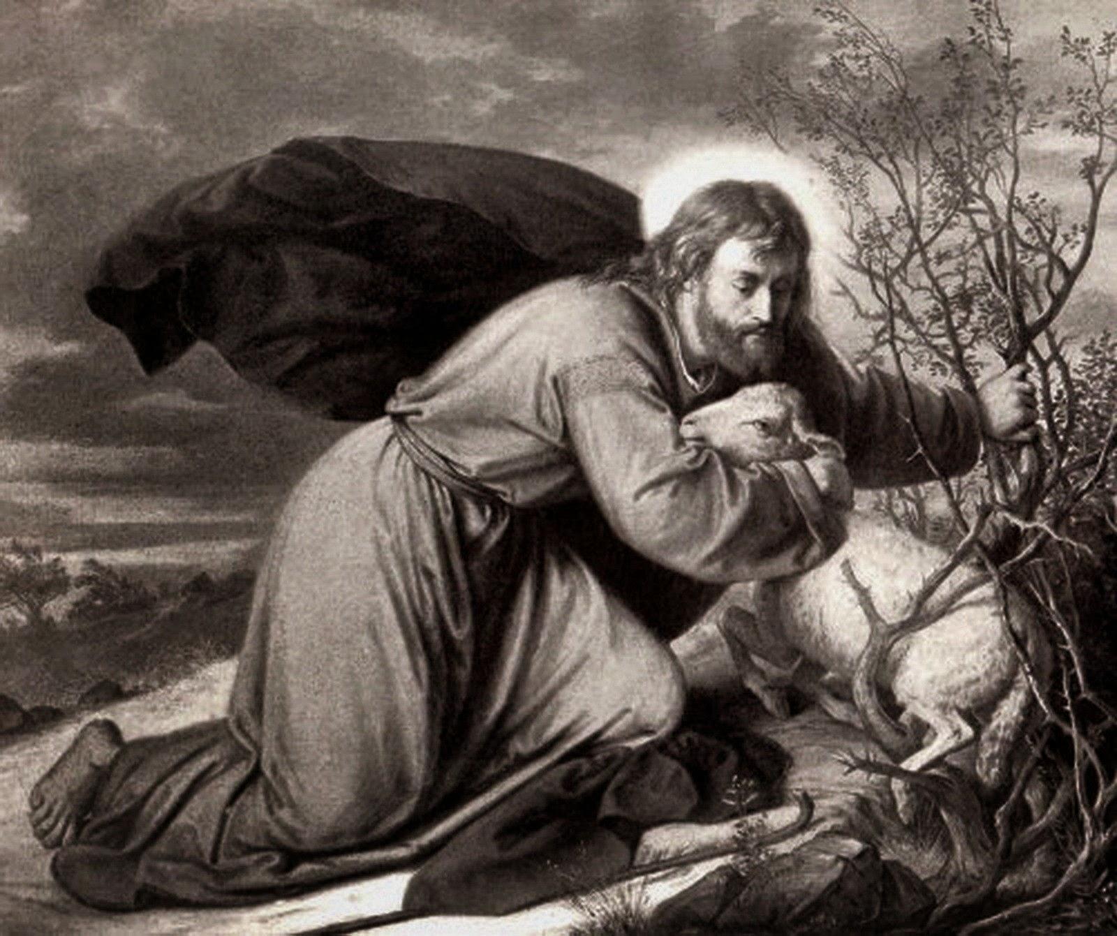 jesus-salvando-a-un-cordero