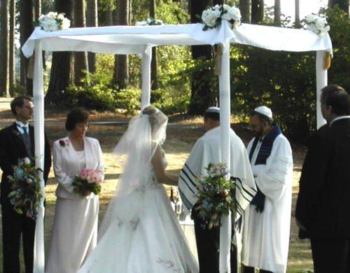 jupá en boda judia