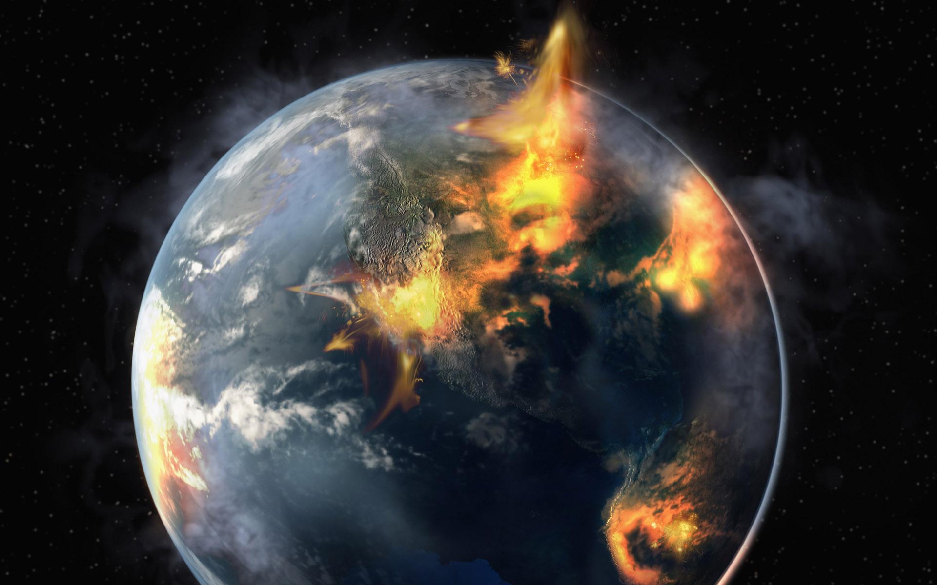 Cómo será la Gran Conflagración del Final de los Tiempos [en la Tierra]