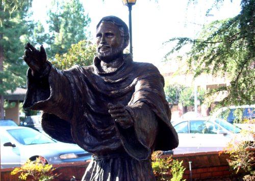 Estatua de San Jose de Cupertino