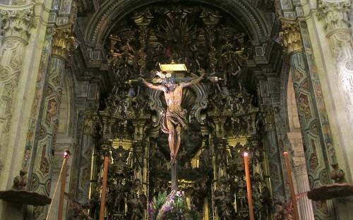 cristo en la cruz sevilla fondo