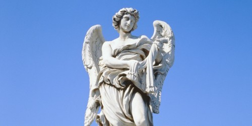 estatua de angel