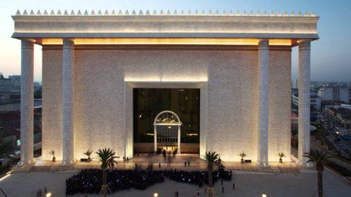 fachada del templo de salomon en san pablo