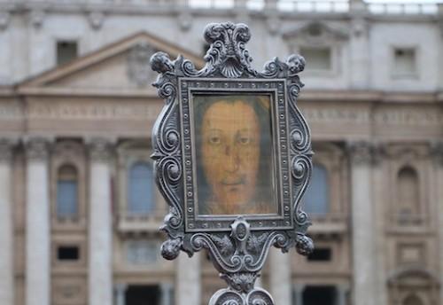 sagrado rostro de manoppello en el vaticano