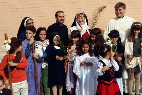Fiesta de Hollywins en colegio español