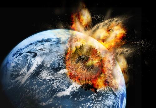 asteroide choca la tierra
