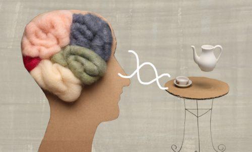 cerebro y una tetera, telekinesis