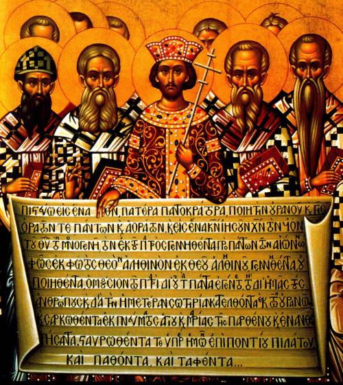 icono del concilio de nicea