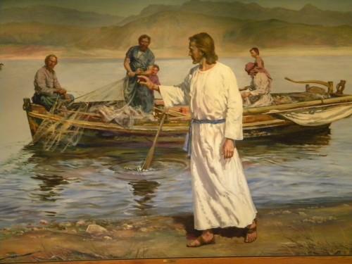 jesus y las redes de pedro fondo