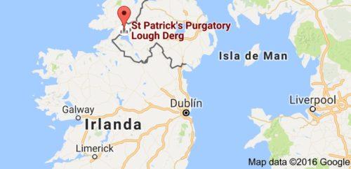 lough derg mapa