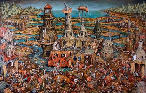 pintura sobre el purgatorio fondo