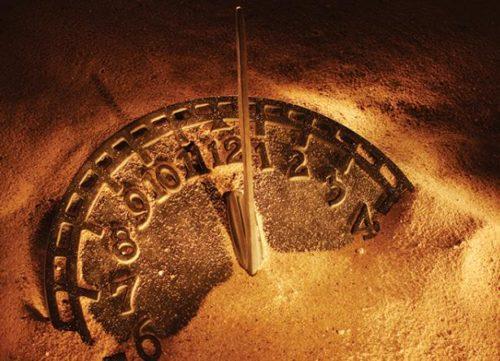 reloj en la arena