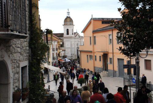 Paseo a pie en Pietrelcina