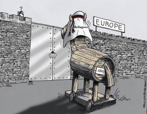 caballo de troya musulman