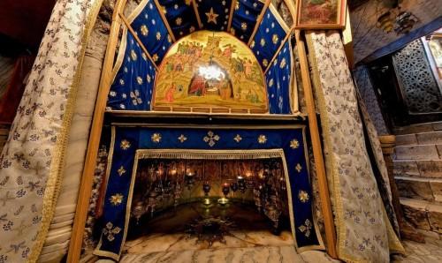 cripta de la natividad en belen