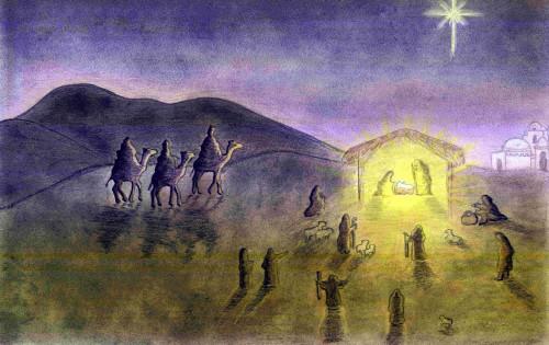 dibujo de la navidad fondo