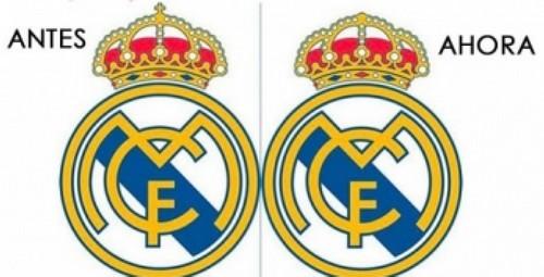 escudo de real madrid antes y ahora
