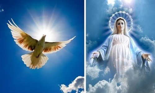 espiritu santo y maría