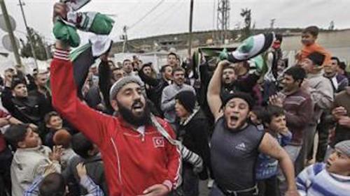 refugiados sirios llegan a europa
