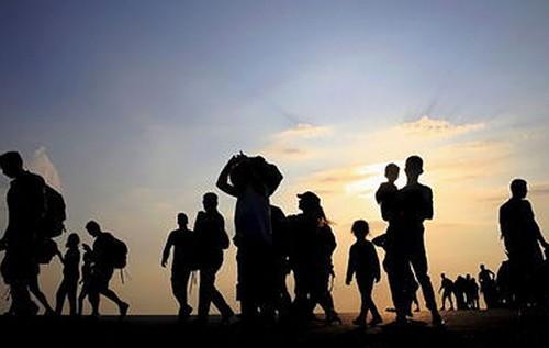 trasfondo de migrantes musulmanes a europa