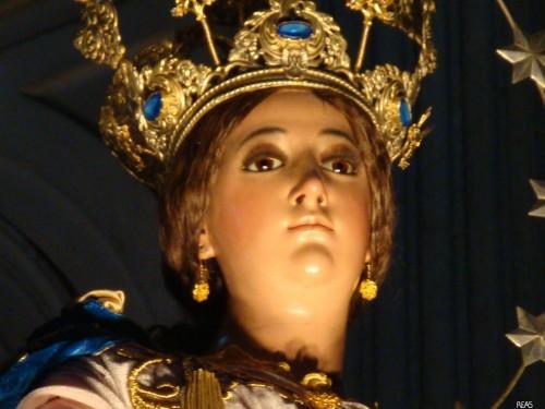 cara de virgen de los reyes guaremala