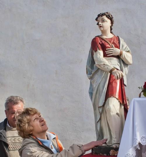estatua de santa fosca