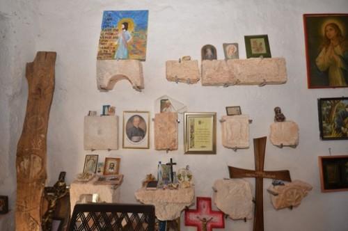 Ex votos de agradecimiento en la Iglesia de Santa Fosca de Istria