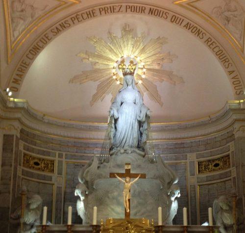 altar de la medalla milagrosa