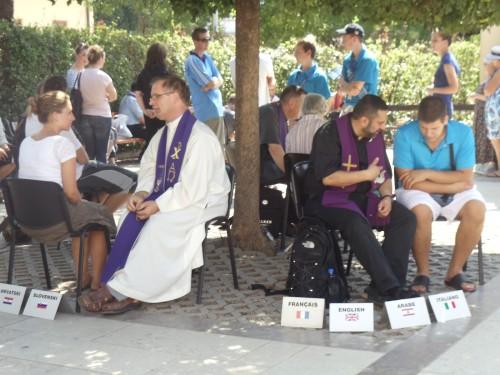 confesiones en medjugorje