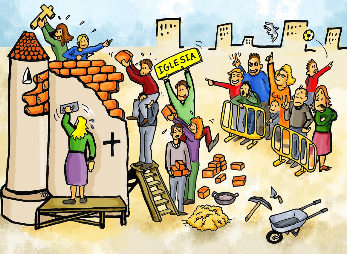 construyen-una-iglesia-y-otros-protestan