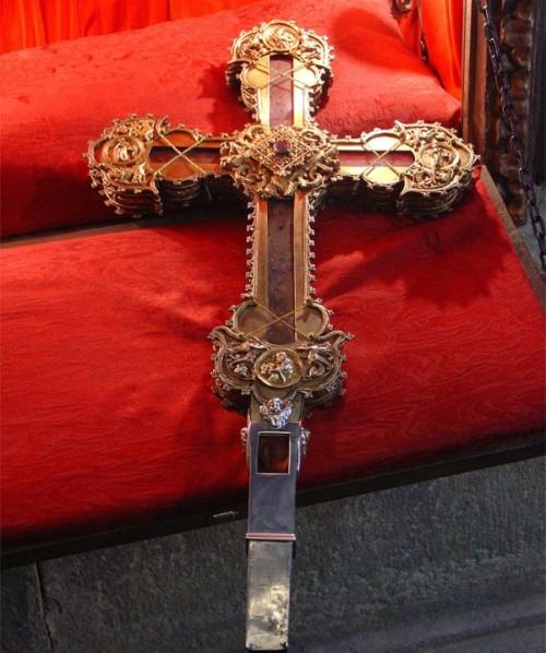 Lignum Crucis del Monasterio de Santo Toribio de Liébana