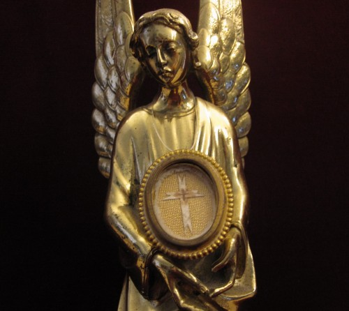Reliquia Cruz de Jesús conservada en Lledó