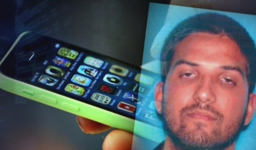 asesino de san bernardino y celular