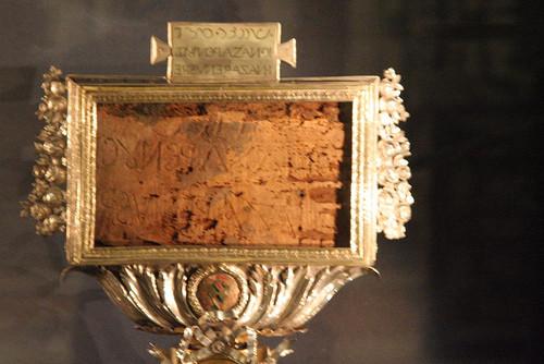 fragmento del titulus crucis