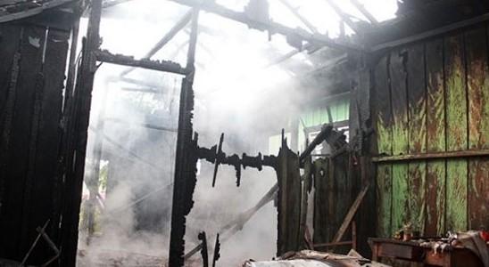 incendio en la casa de dracena