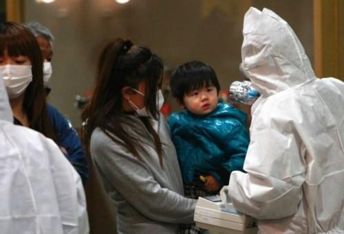 niños y madres de fukushima