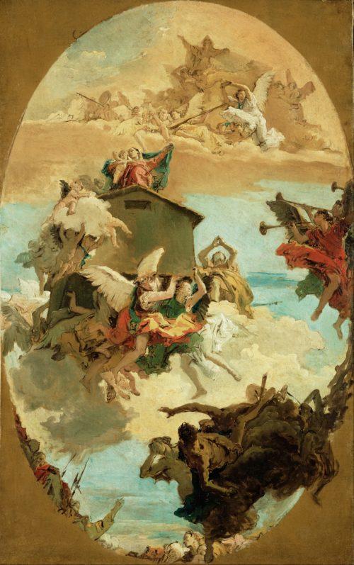 Milagro de la Casa de Loreto Giovanni Battista Tiepolo