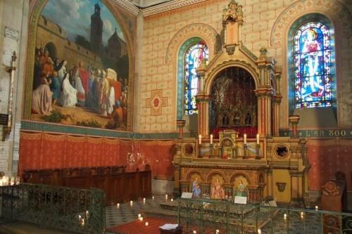 capilla de la tunica de argentuil